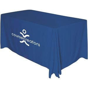 Draped 4' Table Throw (1 Color Screen Print)